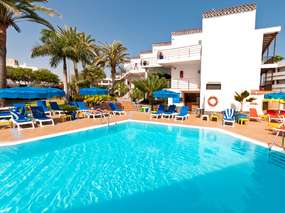 Ferienanlage Casas Pepe in Playa Ingles - only adults